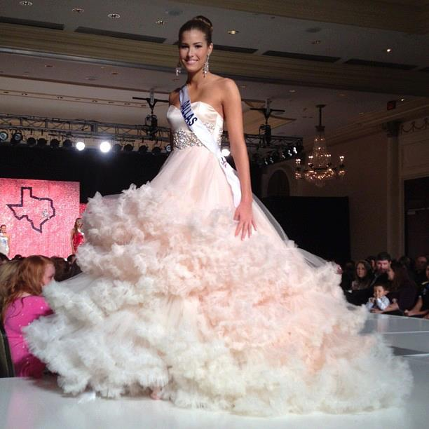 Miss Dallas Teen USA 2012 - Brooklynne Young. Photo by Alexis Lantz Couture.