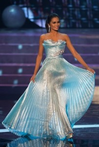 Miss Philippines Universe 2012 - Janine Tugonon. Photo by Miss Universe Organization.