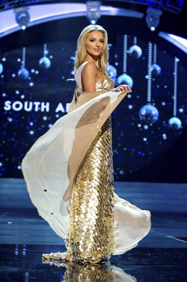 Miss South Africa Universe 2012 - Melinda Bam. Photo by Miss Universe Organization.
