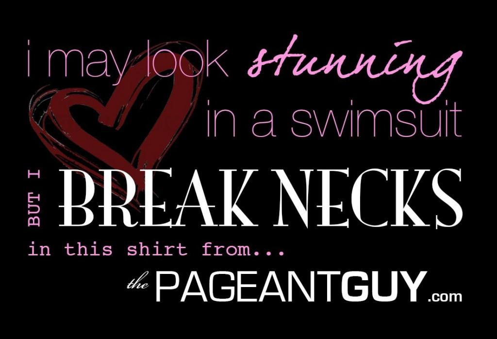 """""""Break Necks"""" Shirt black"""